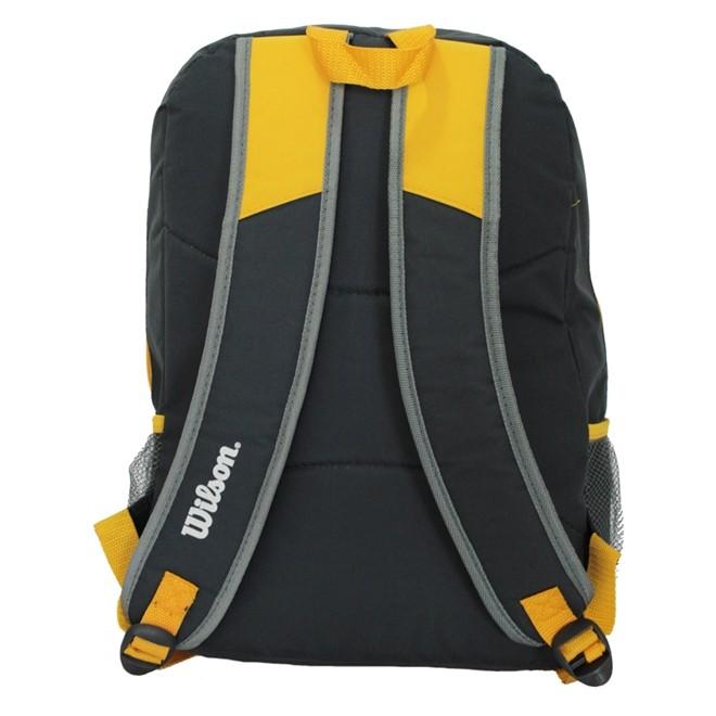 Mochila Esportiva Ix13526c Cinza/amarelo - Wilson