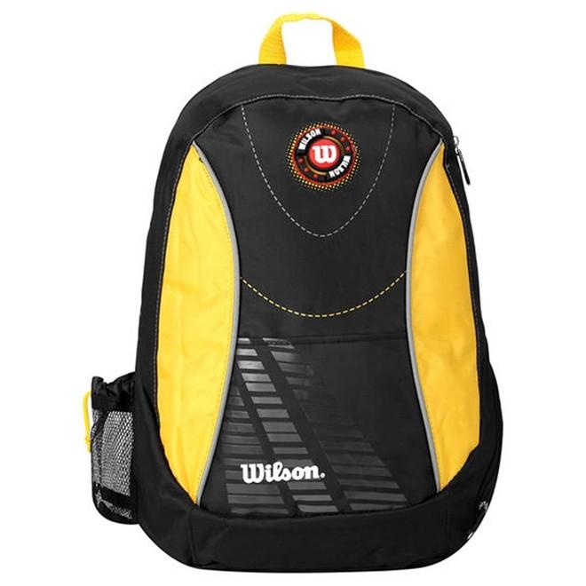Mochila Esportiva Unissex Wilson 26 litros Preto/Amarelo WTIX12255D