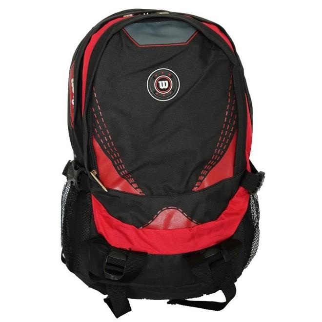 Mochila Esportiva Wtix13540b Preto/vermelho - Wilson