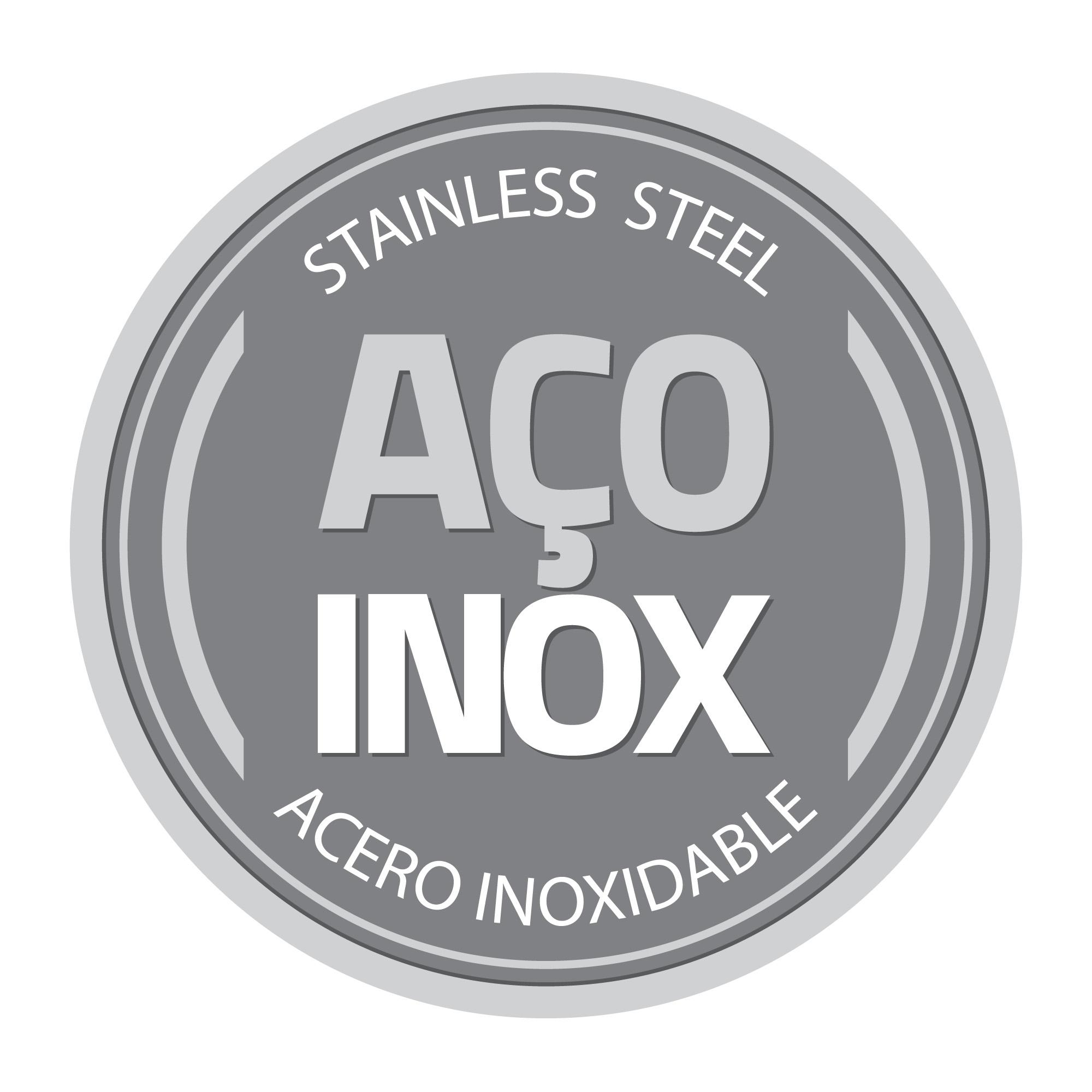 Moedor de Sal e Pimenta Aço Inox/Bambu Tramontina 61652/000