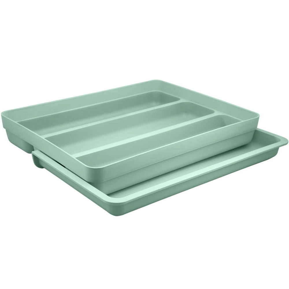 Organizador de Utensílios extensor Verde 36x27,6x5,7 cm