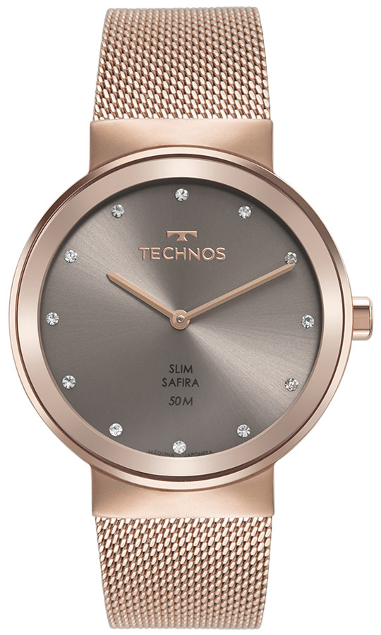 Relógio Analógico Feminino Rosé Technos 1L22WN/1C