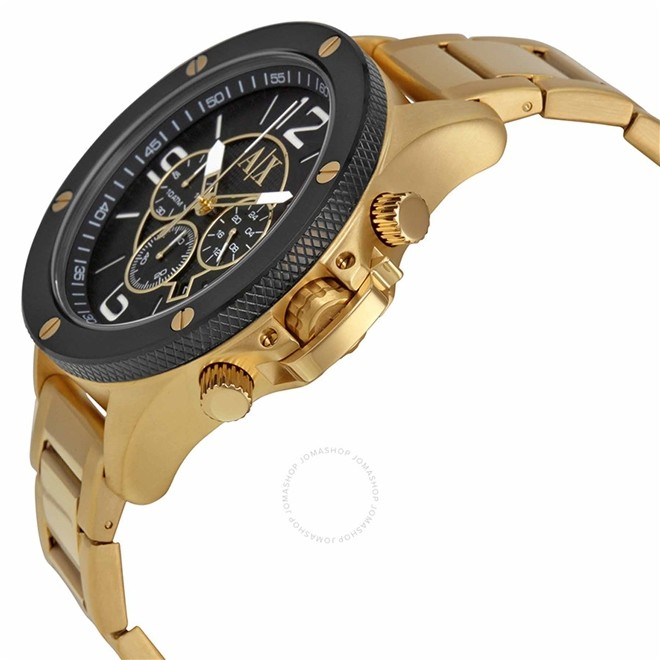 Relógio Armani Exchange Cronógrafo Analógico Masculino AX1511/4PN