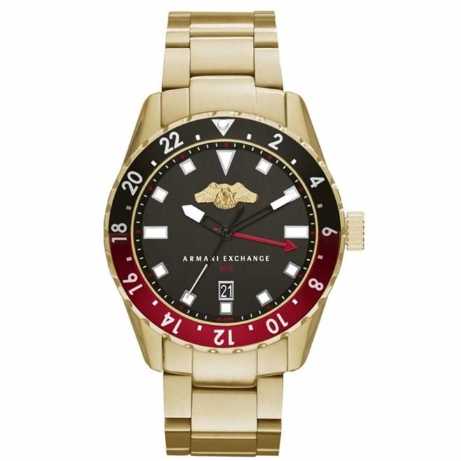 Relógio Armani Exchange Limited Edition Troca Pulseiras Analógico Masculino AX7007/4PN