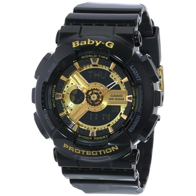 Relógio Casio Baby-G Anadigi Feminino BA-110-1ADR