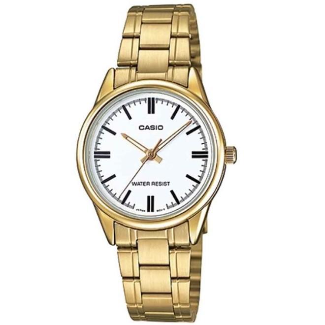 Relógio Casio Collection Analógico Feminino LTP-V005G-7AUDF