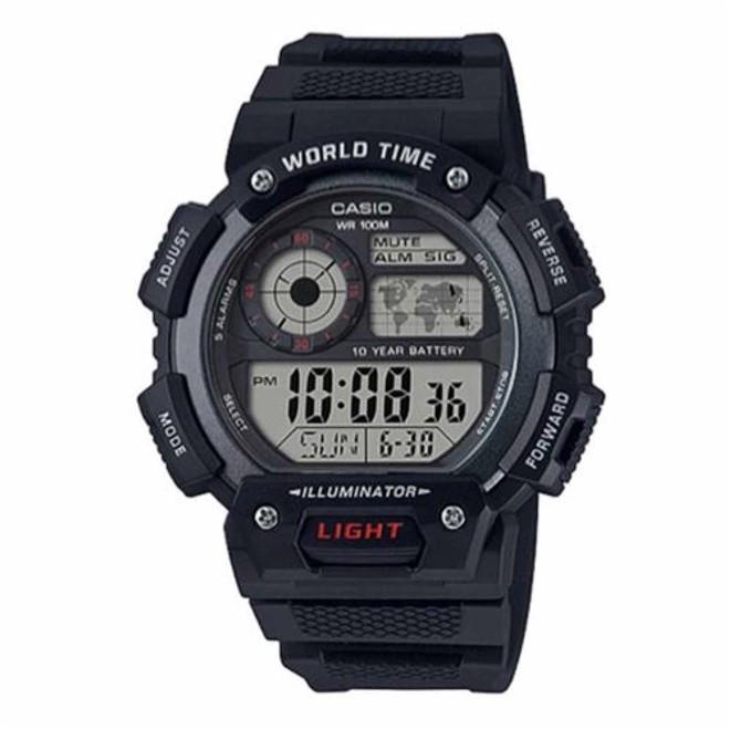 Relógio Casio Digital Masculino AE-1400WH-1A
