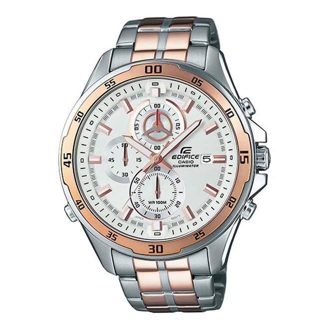 Relógio Casio Edifice Cronógrafo Analógico Masculino EFR-547SG-7AVUDF
