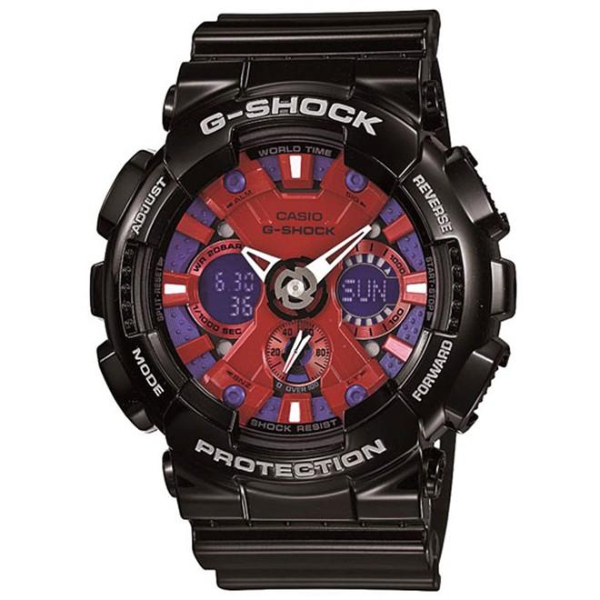 Relógio Casio G-Shock Anadigi Masculino GA-120B-1ADR