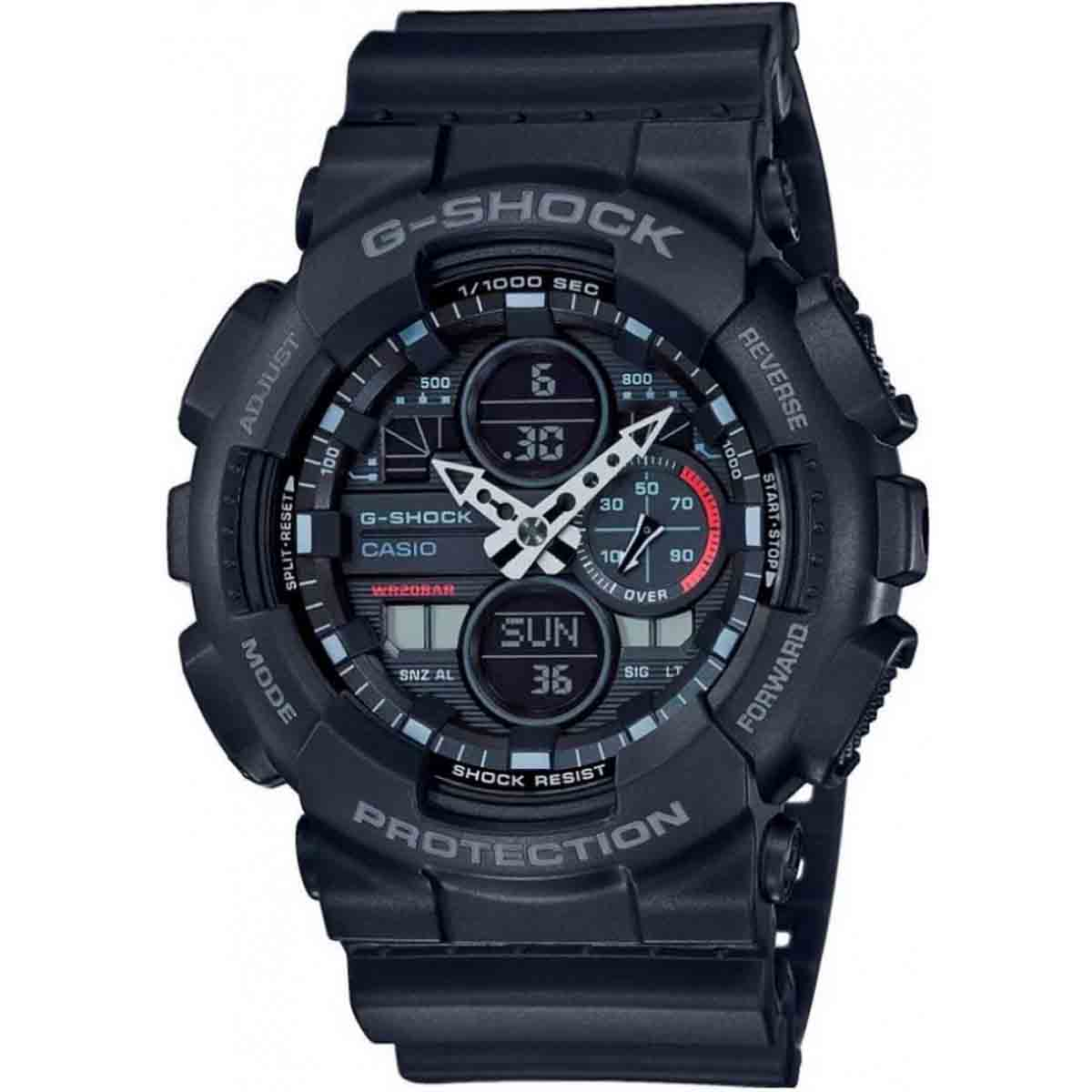Relógio Casio G-Shock Anadigi Masculino GA-140-1A1DR