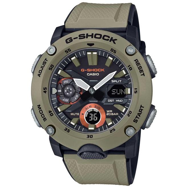 Relógio Casio G- Shock Anadigi Masculino GA-2000-5ADR