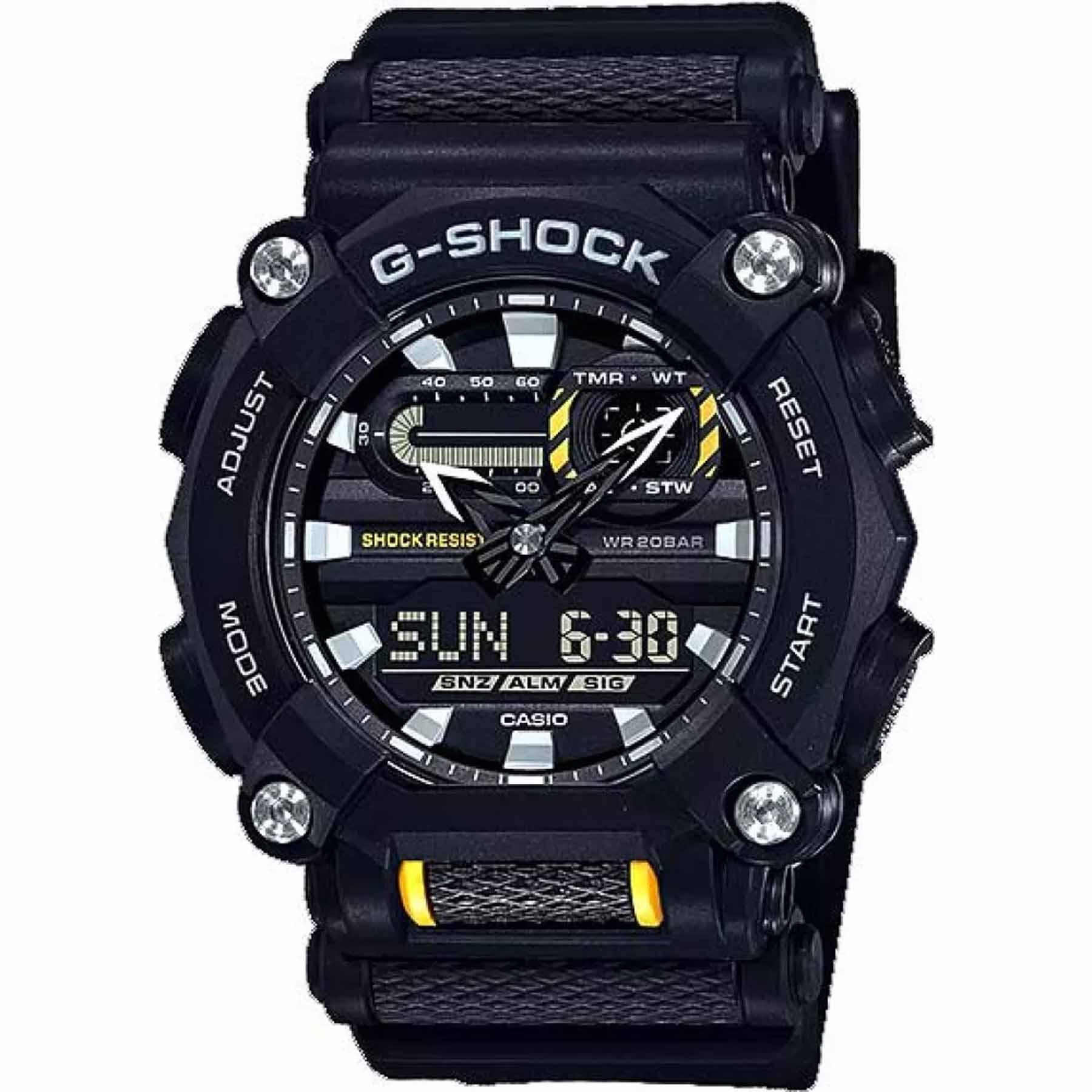 Relógio Casio G-Shock Anadigi Masculino GA-900-1A1