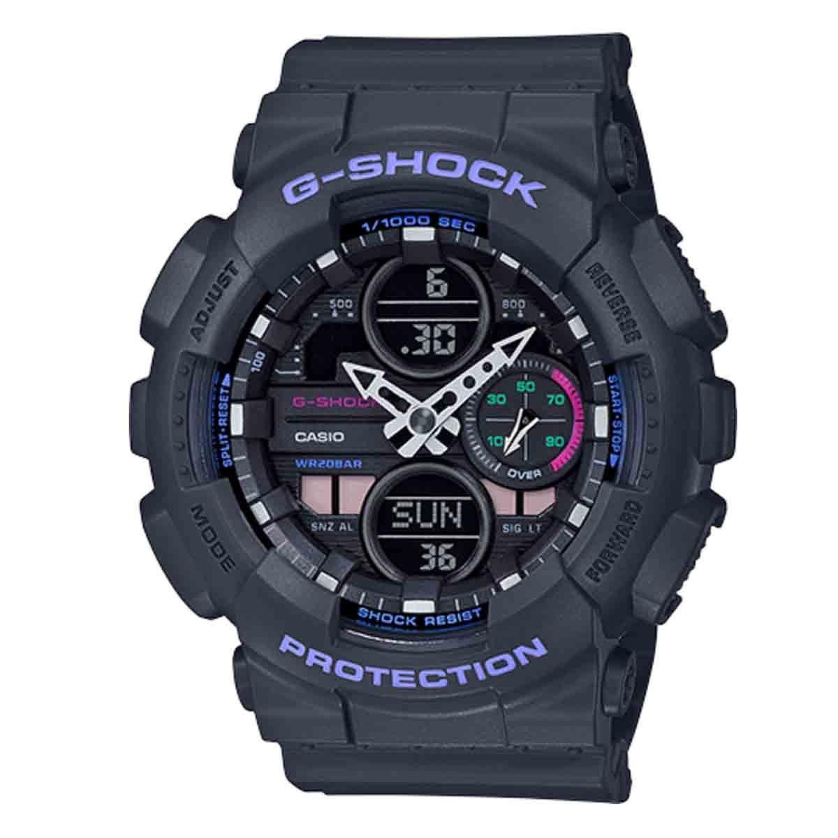 Relógio Casio G-Shock Anadigi Masculino GMA-S140-8ADR