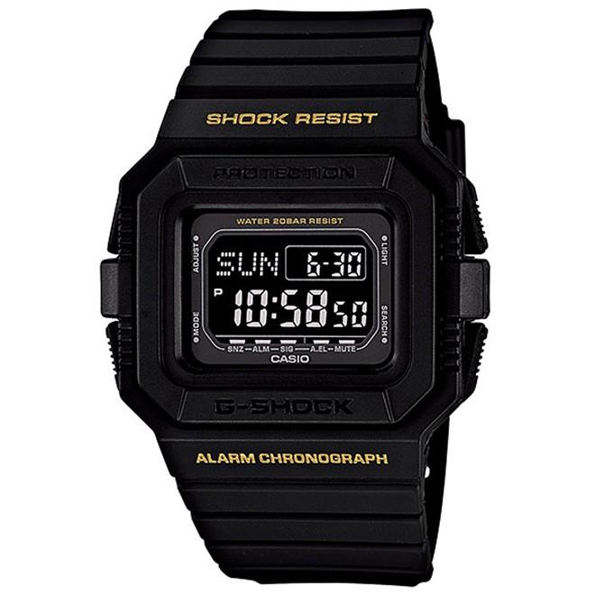 Relógio Casio G-Shock Digital Masculino DW-D5500-1BDR
