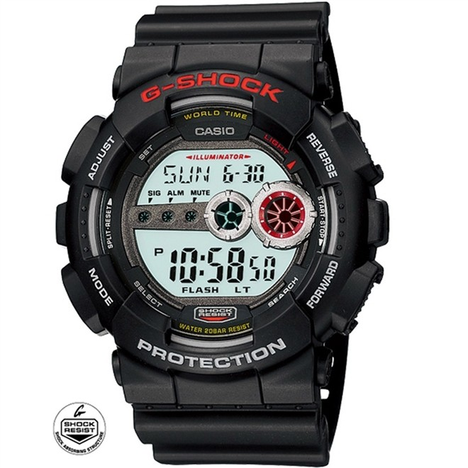 Relógio Casio Masculino G-Shock Digital GD-100-1ADR - Preto