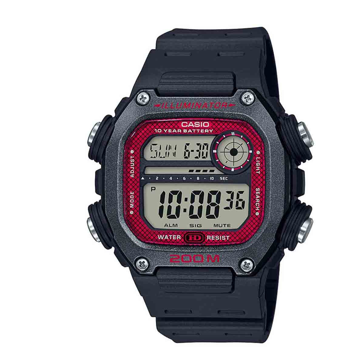 Relógio Casio Standard Digital Masculino DW-291H-1BV
