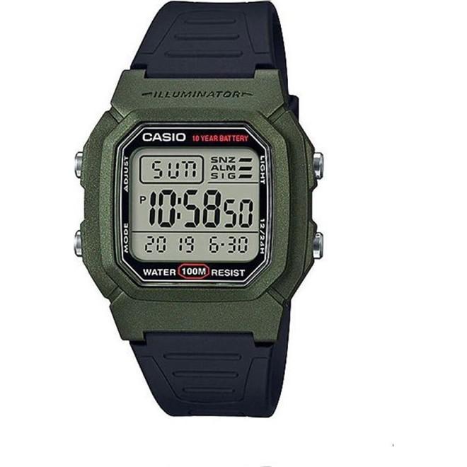 Relógio Casio Standard Digital Masculino W-800HM-3AVDF-BR