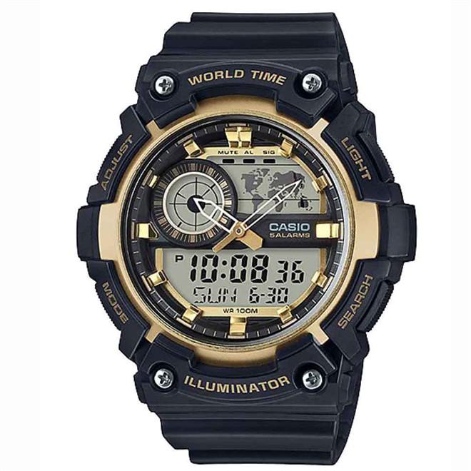 Relógio Casio Standard Masculino Anadigi AEQ-200W-9AVD