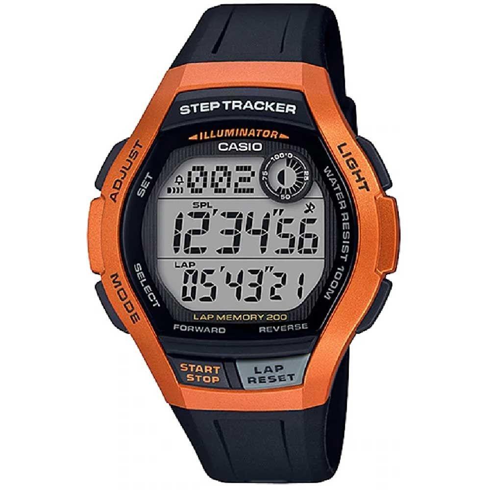 Relógio Casio Standard Ws-2000h-4avdf Laranja