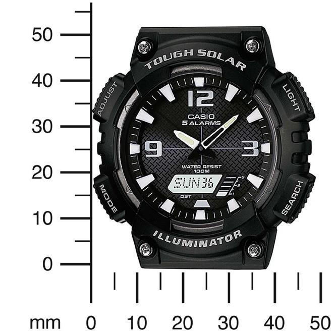 Relógio Casio Tough Solar Anadigi Masculino AQ-S810W-1AVDF