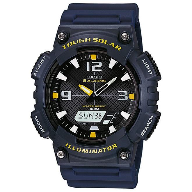 Relógio Casio Tough Solar Anadigi Masculino AQ-S810W-2AVDF