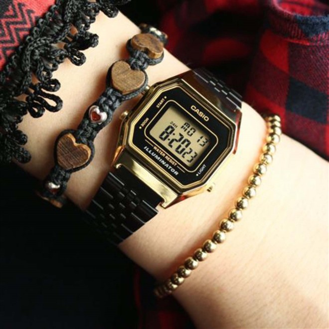 Relógio Casio Unissex Vintage LA680WEGB-1ADF