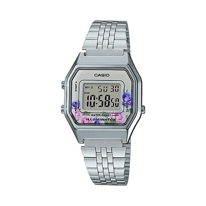 Relógio Casio Vintage Digital Feminino LA680WA-4CDF-BR