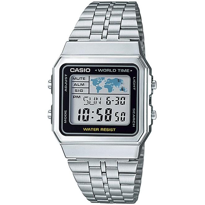 Relógio Casio Vintage Digital Unissex A500WA-1DF