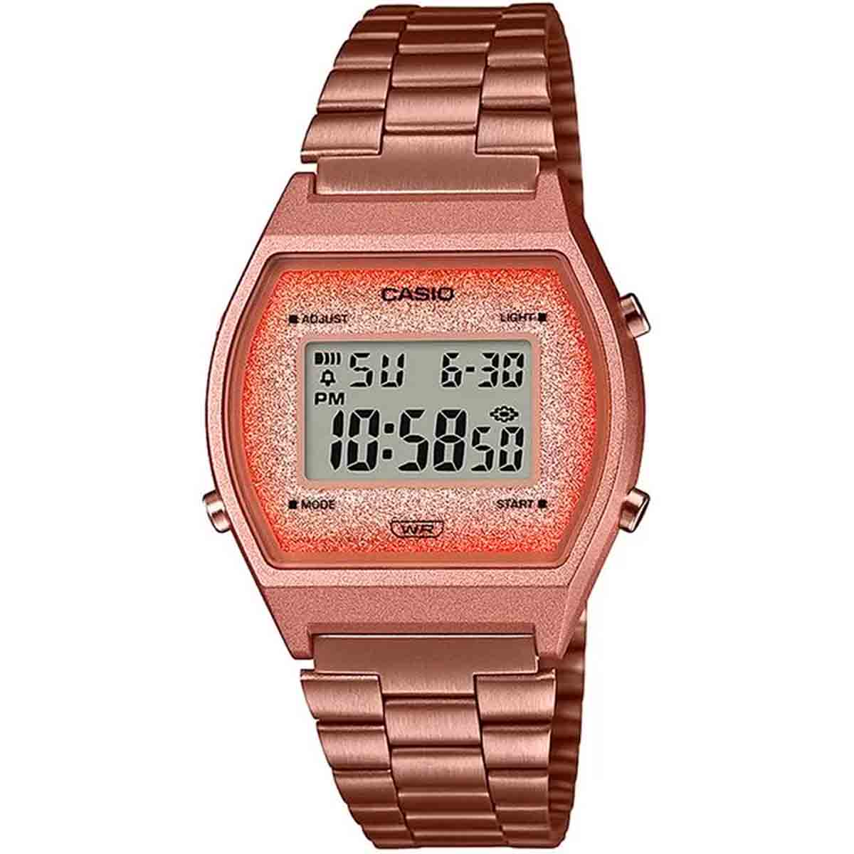 Relógio Casio Vintage Feminino Digital B640WCG-5DF