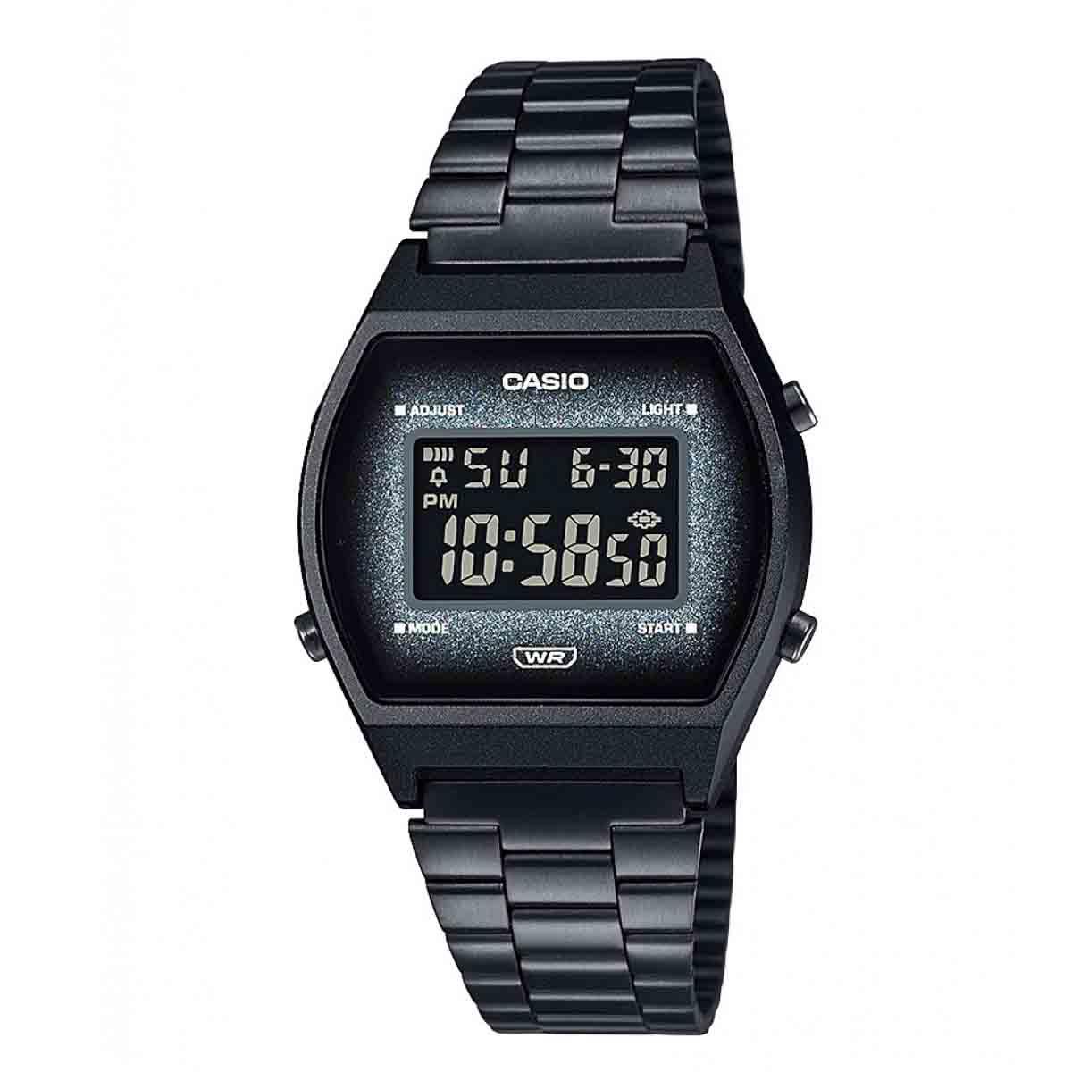 Relógio Casio Vintage Preto Feminino Digital B640WBG-1BDF