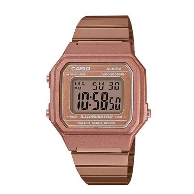 Relógio Casio Vintage Rose Digital Unissex B650WC-5ADF