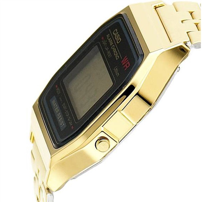 Relógio Casio Vintage Unissex Dourado A159WGEA-1DF