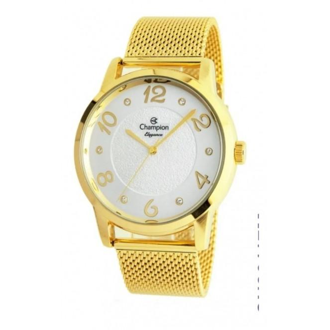 Relógio Champion Feminino Kit Semijóia CN26117B