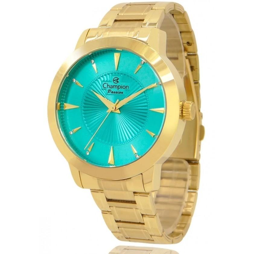 Relógio Champion Feminino Kit Semijóia CN28991Y