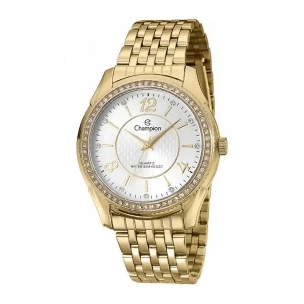 Relógio Champion Feminino Kit Semijóia CN29632W