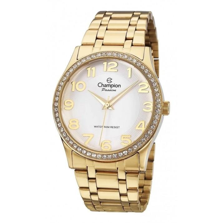 Relógio Champion Feminino Kit Semijóia CN29810W