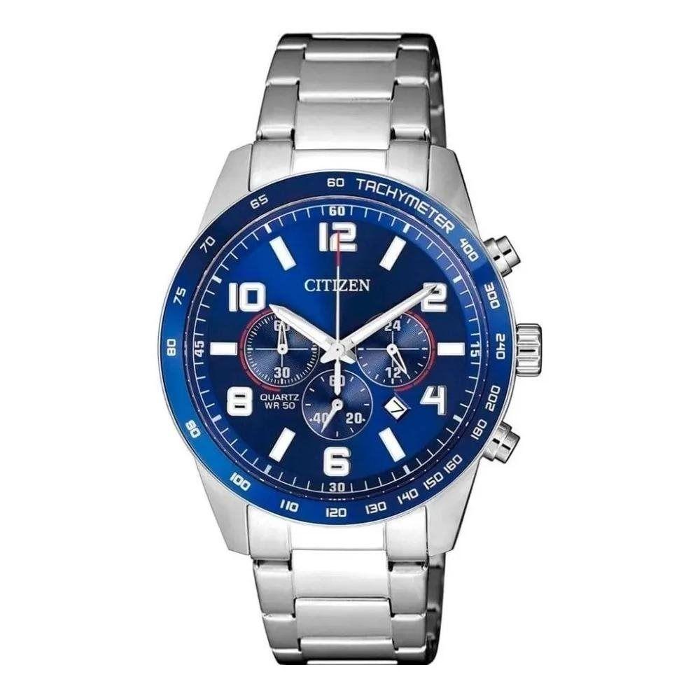 Relógio Citizen Analógico Prata Masculino TZ31454F