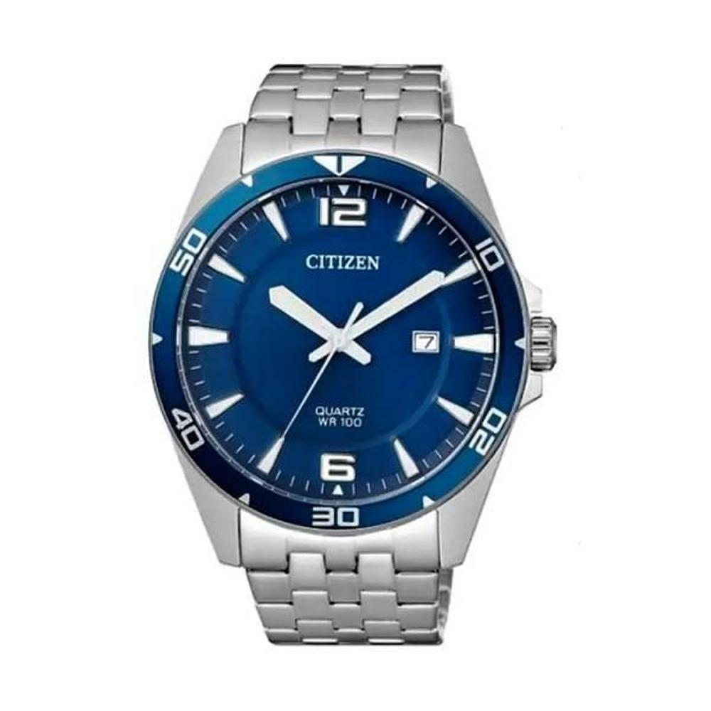 Relógio Citizen Analógico Prata Masculino TZ31463F