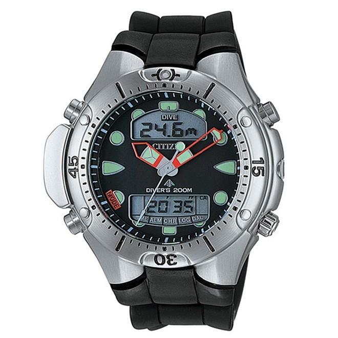 Relógio Citizen Promaster Aqualand Anadigi Diver's 200m Masculino JP1060-01E TZ10020E