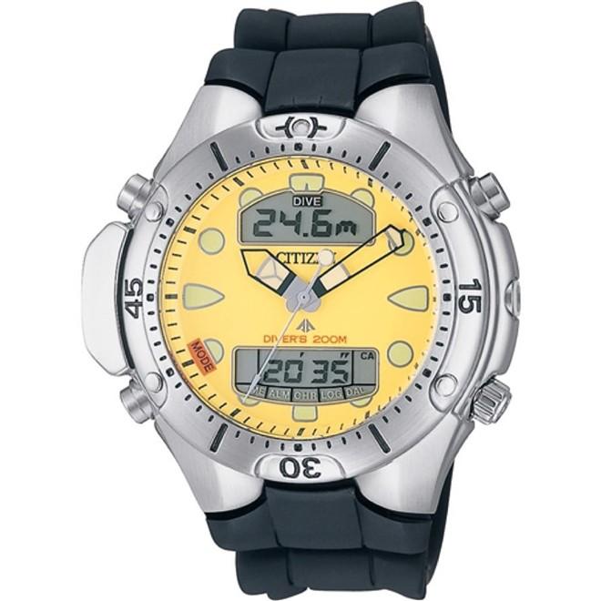 Relógio Citizen Promaster Aqualand Anadigi Diver's 200m Masculino JP1060-01X - TZ10128Y