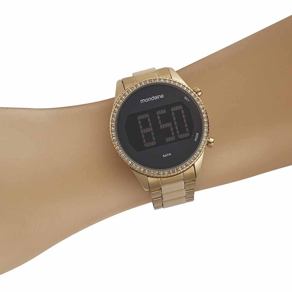 Relógio Feminino Digital Mondaine 32122LPMVDF1