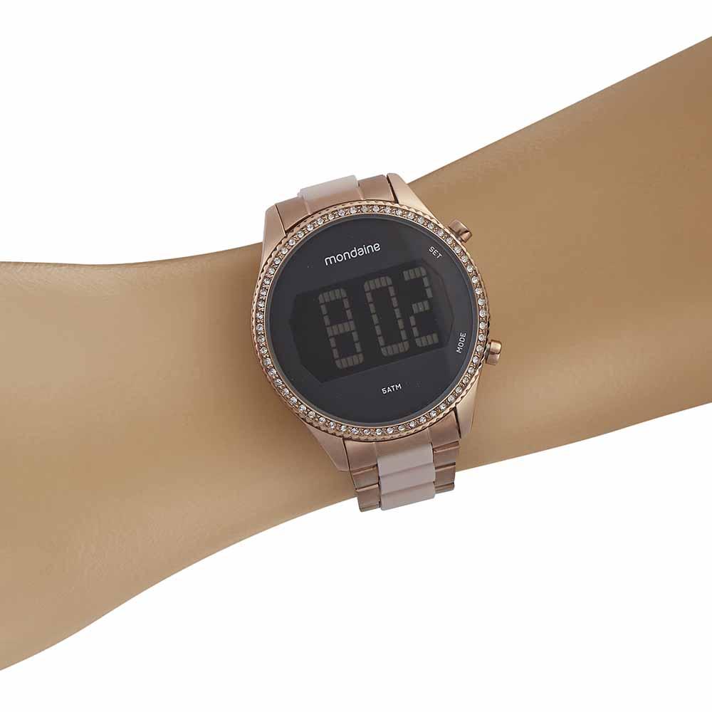 Relógio Feminino Digital Mondaine 32122LPMVRF2