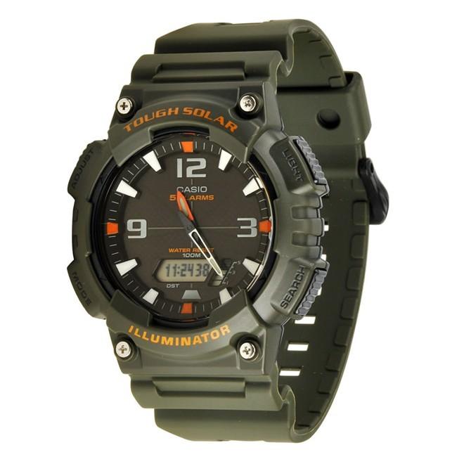 Relógio Masculino Anadigi Casio AQS810W3AVDF - Verde