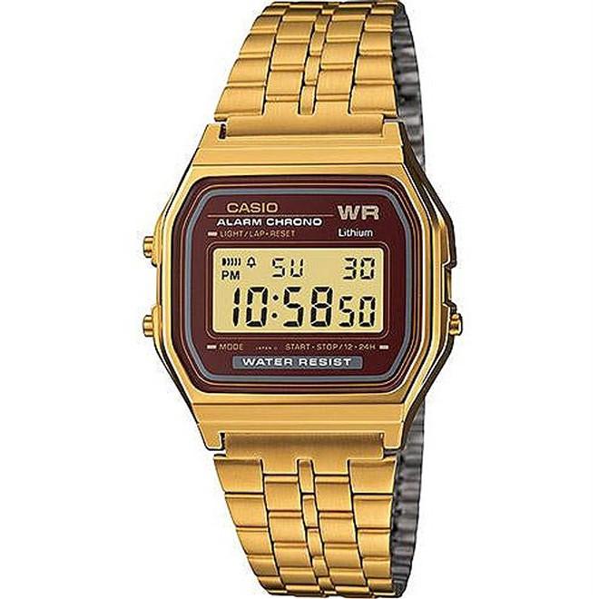Relógio Unissex Digital Casio A159WGEA5DF - Dourado