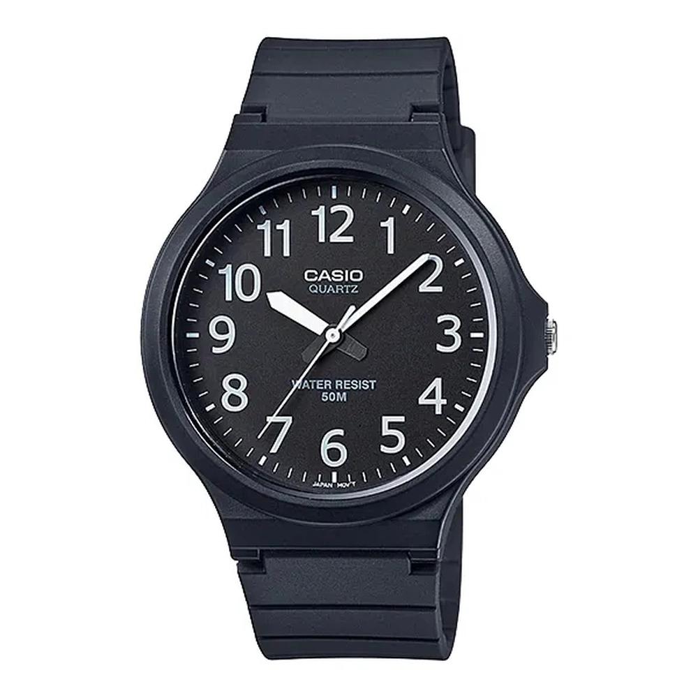 Relógio Masculino Preto Casio Analógico MW2401BVDF