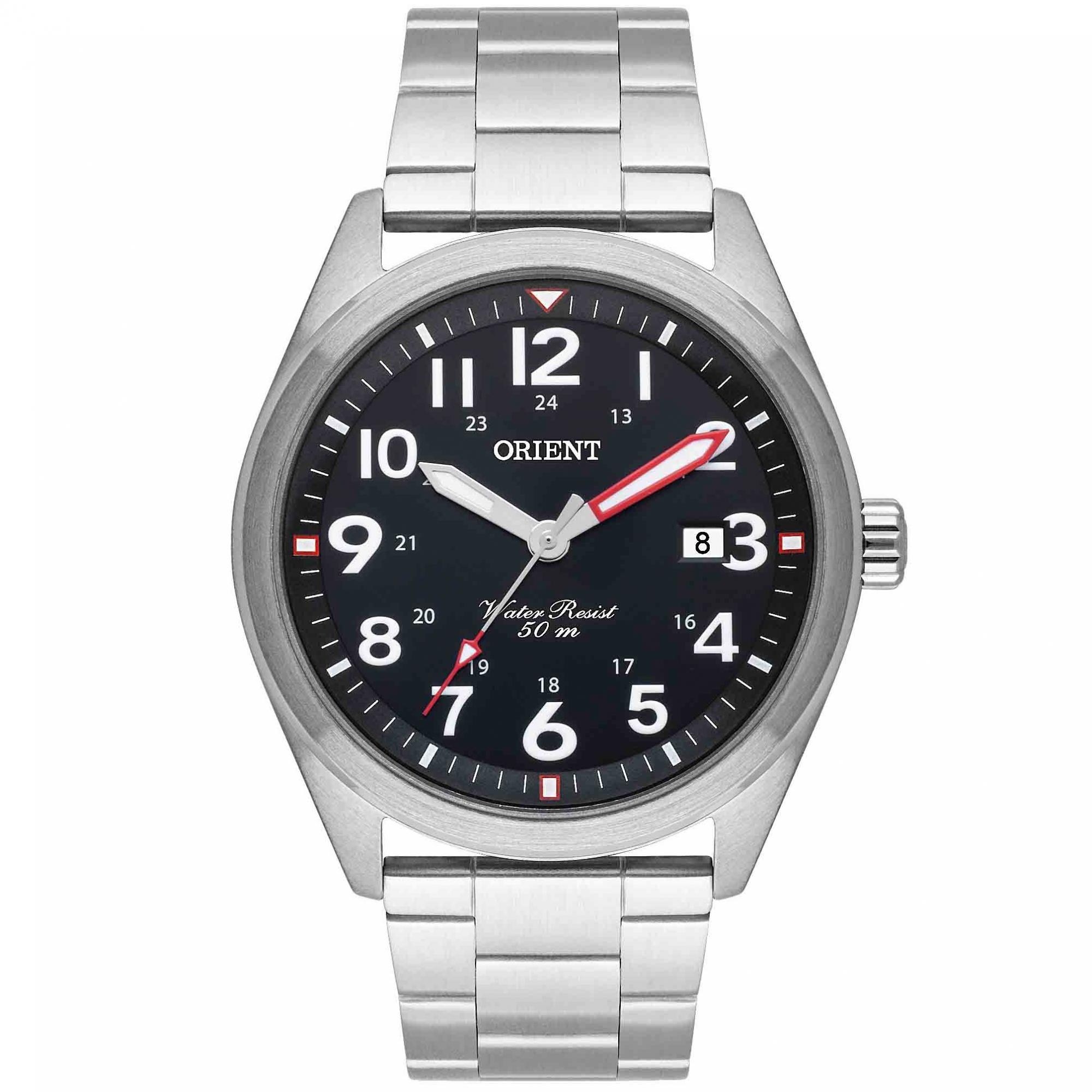 Relógio Orient Prata Masculino MBSS1396 P2SX