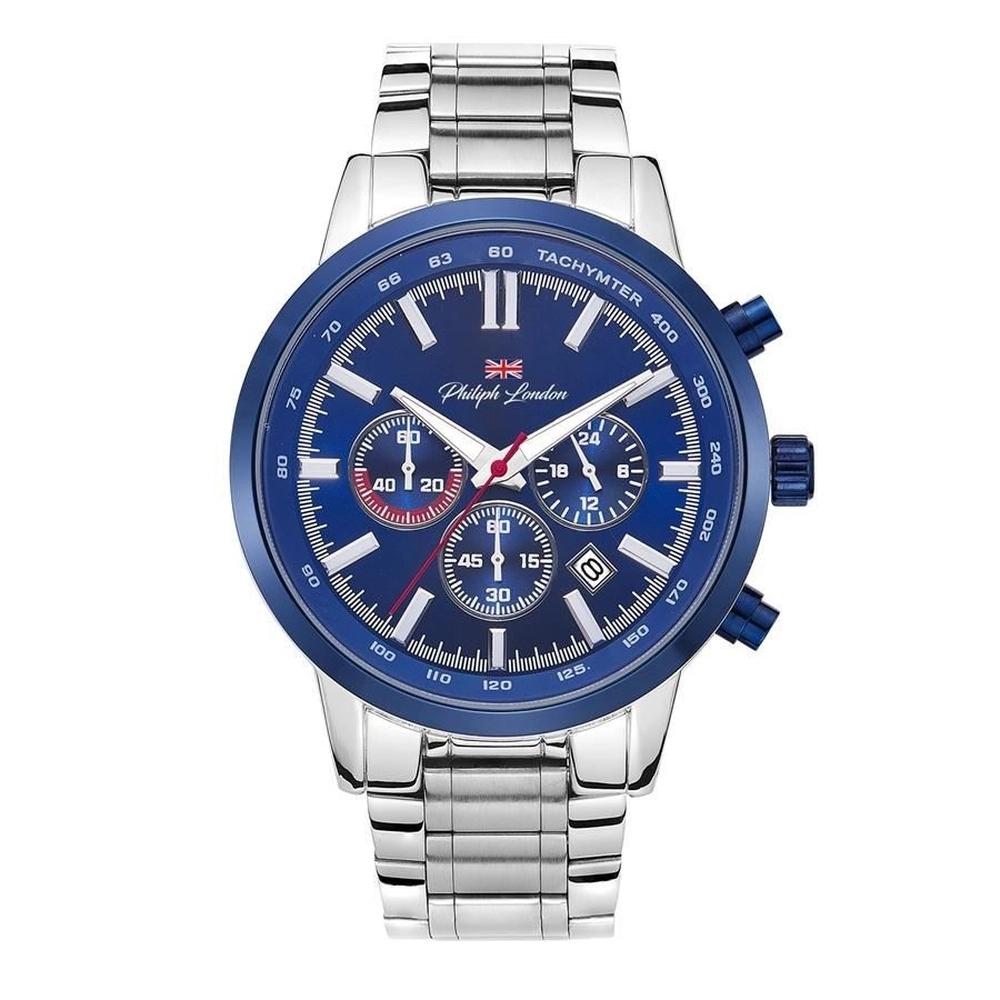 Relógio Philiph London Analógico Masculino PL80029633M