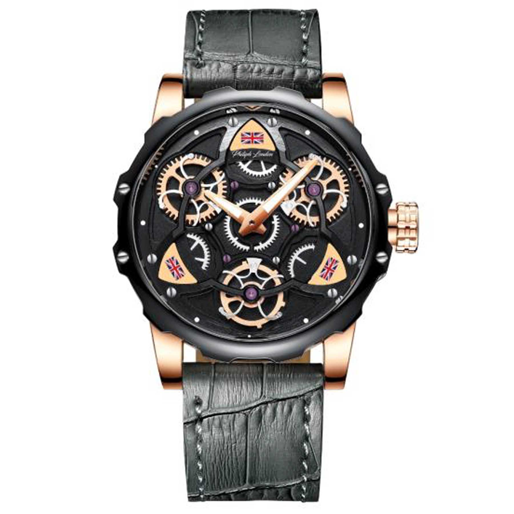 Relógio Philiph London Analógico Masculino PL80184112M