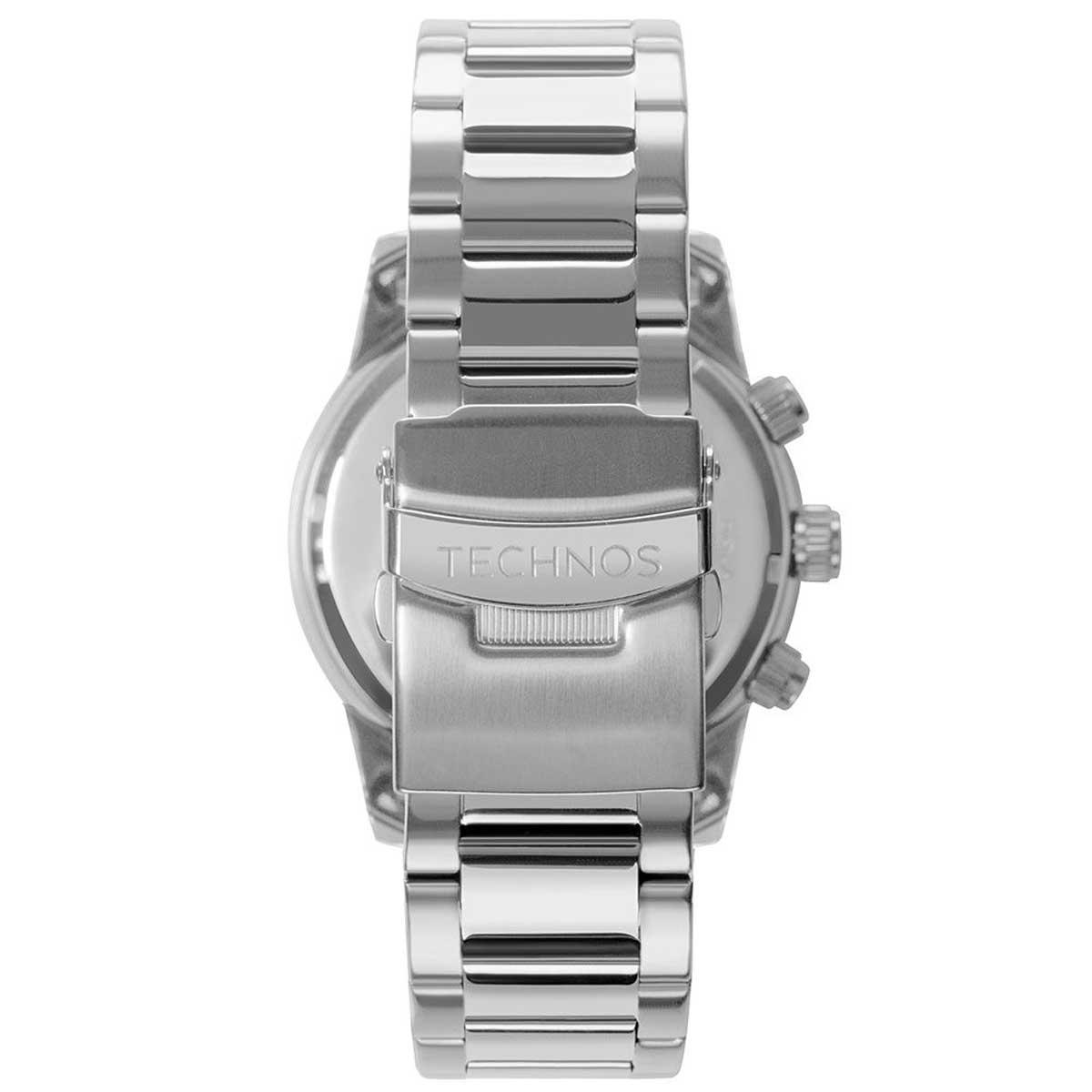 Relógio Technos Cronógrafo Sport Aço Masculino JS15FO/1A