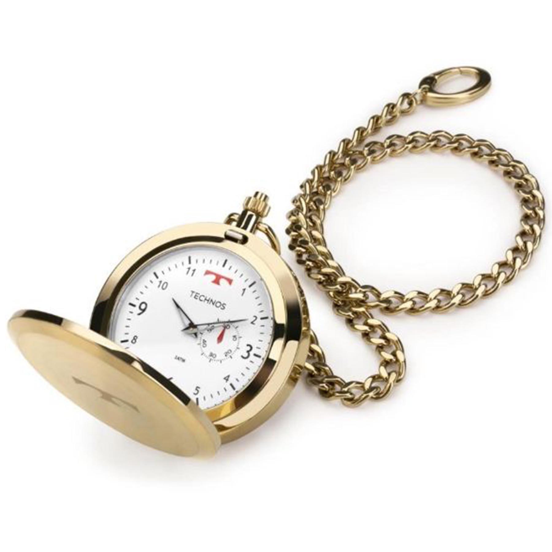 Relógio Technos De Bolso Masculino 1L45BB/4B